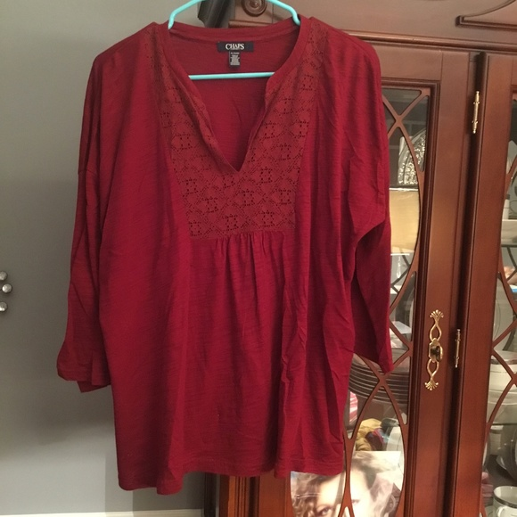 Chaps Tops - 👚CHAPS SHIRT SIZE EXTRA LARGE
